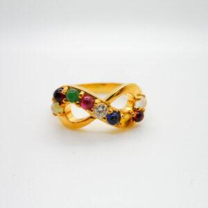 แหวนอินฟินิตี้ รุ่น นพเก้า ทอง90